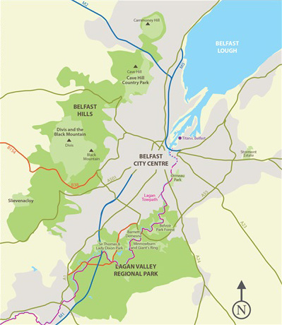 Mournes Map