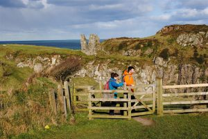 North Antrim Cliff Path – Dunseverick to Giant's Causeway