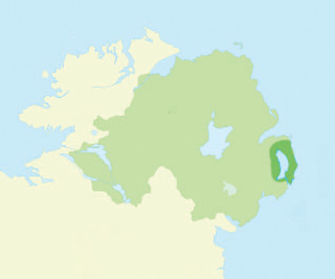 Strangford Lough Map